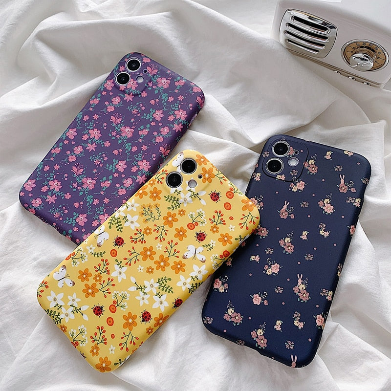 Lovely Floral iPhone Case - Casefy Shop