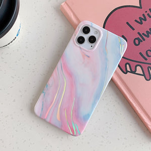 Laser Marble iPhone Case - Casefy Shop