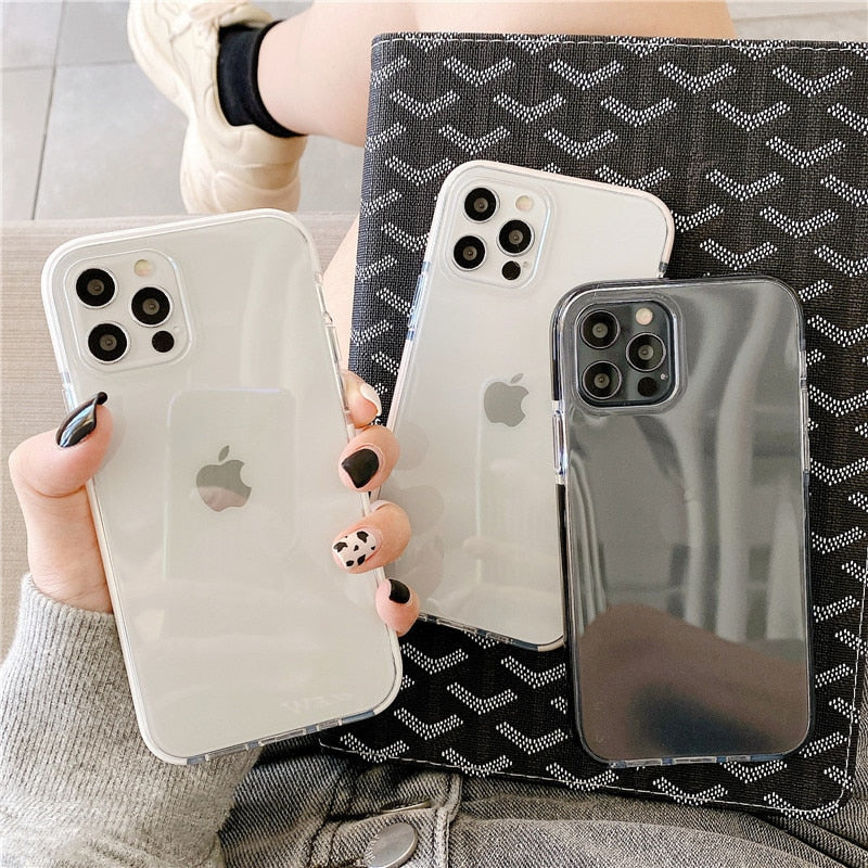 Transparent Shockproof iPhone Case