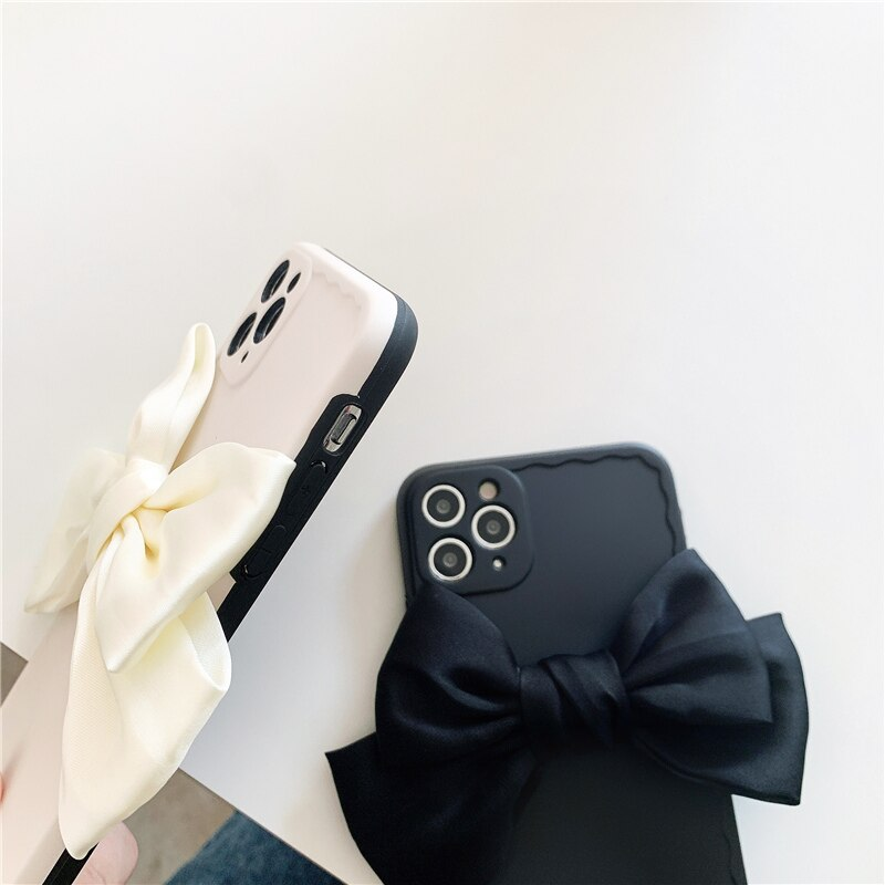 Silk Bowknot iPhone Case