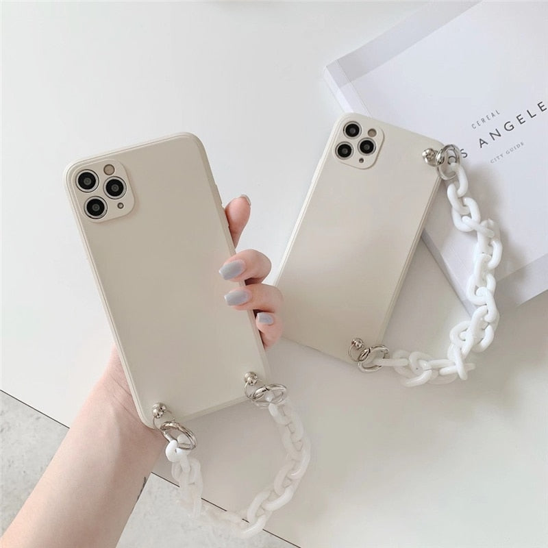 Chain Lanyard iPhone Case