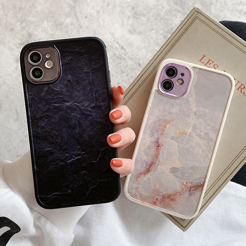 Marble Bumper iPhone Case