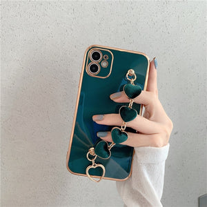 Heart Bracelet iPhone Case
