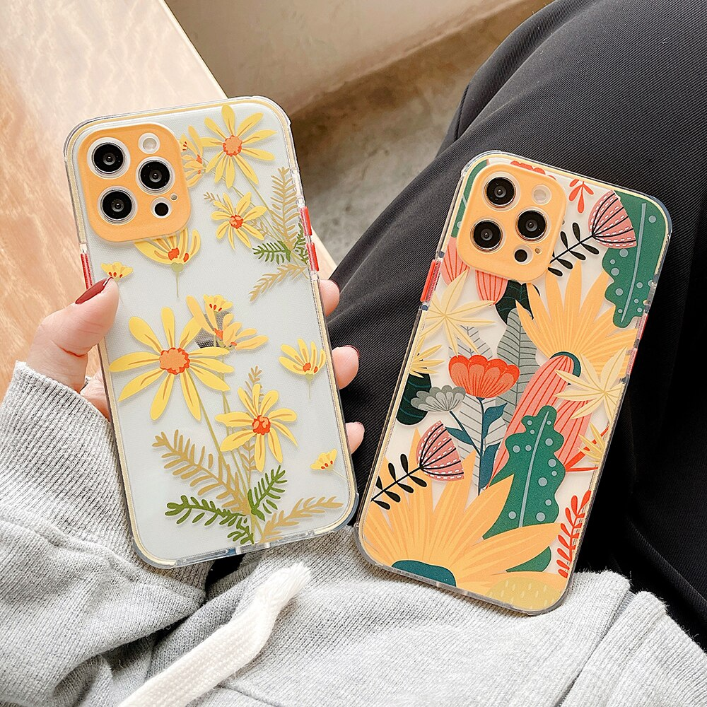 Flower & Leaf iPhone Case
