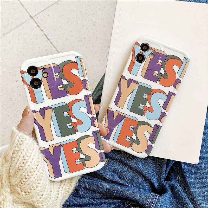 """YES"" iPhone Case"