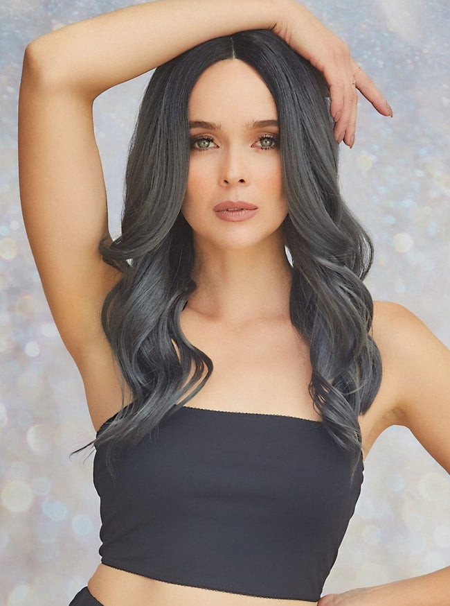 Rene of Paris Divine Wavez synthetic wig Midnight Stone