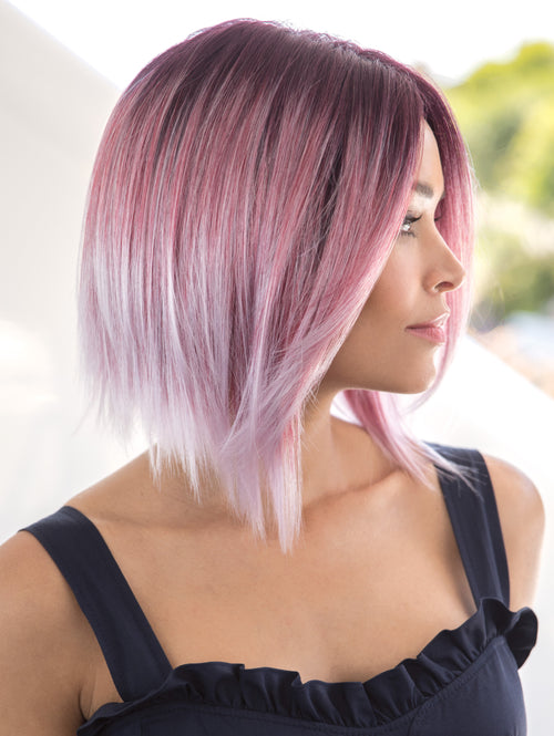 Noriko Zion synthetic wig Melted Plum
