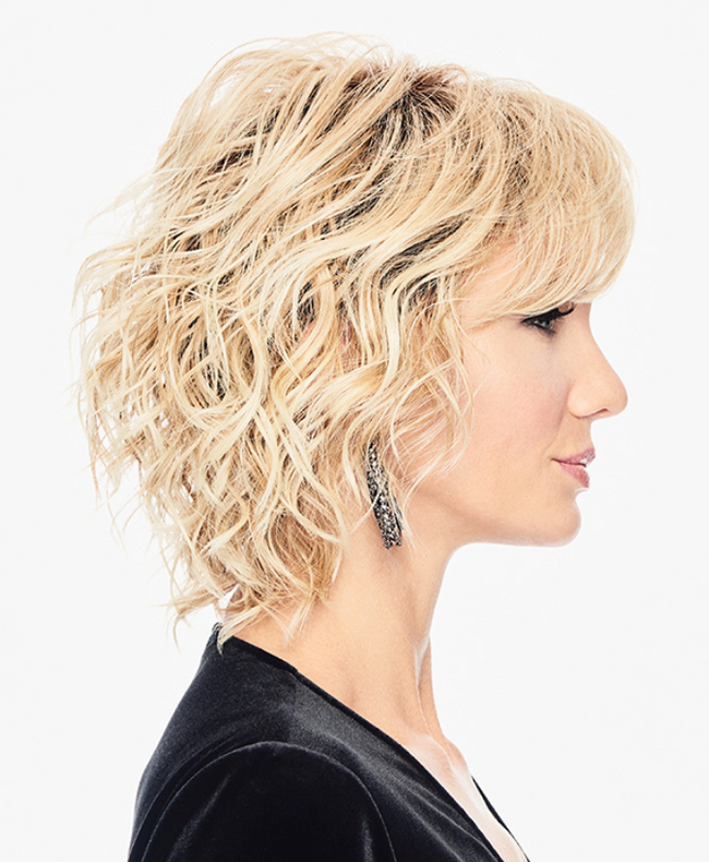 Hairdo Breezy Wave Cut synthetic wig SS14/88 Rooted Golden Wheat
