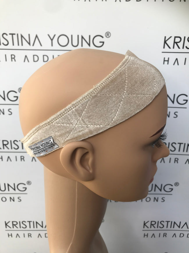 Kristina Young - Lace Front Velvet Wig Grip Band