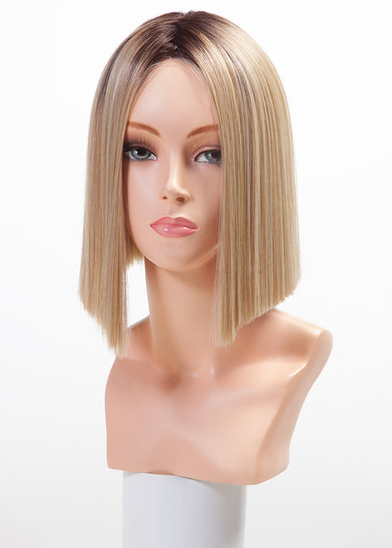 Belle Tress Joe lace front synthetic wig - Honey Chai with Latte