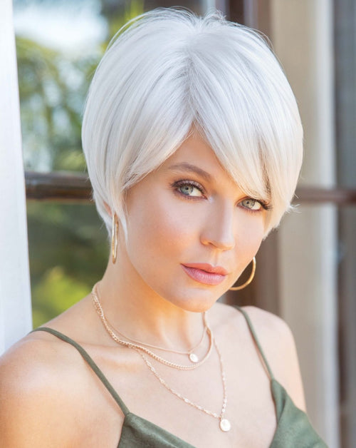 Noriko Nima synthetic wig Simply White