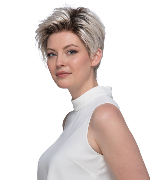 Estetica Designs Petite Easton synthetic wig Silversun RT8