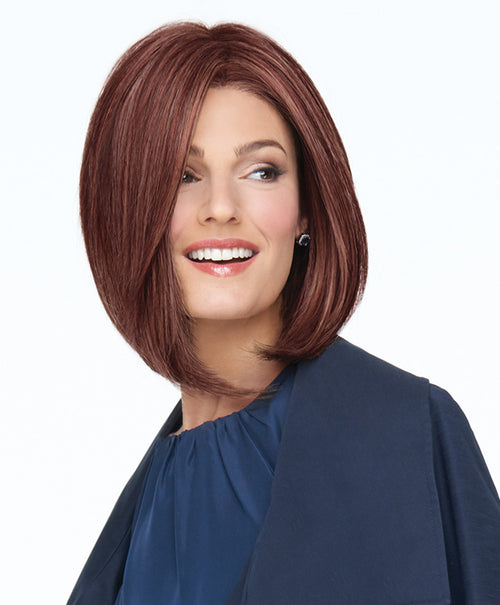 Raquel Welch On Point synthetic wig RL33/35 Deepest Ruby