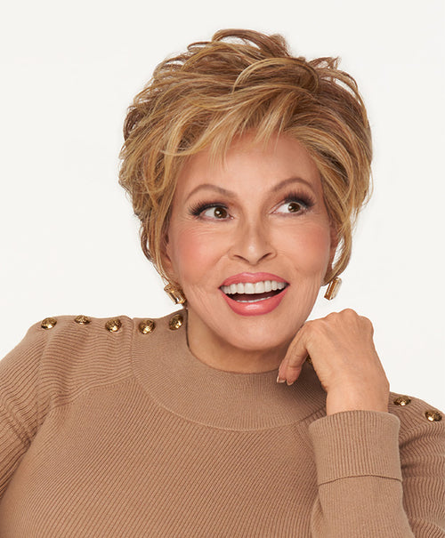 Raquel Welch Ready For Take Off synthetic wig RL29/25 Golden Russet