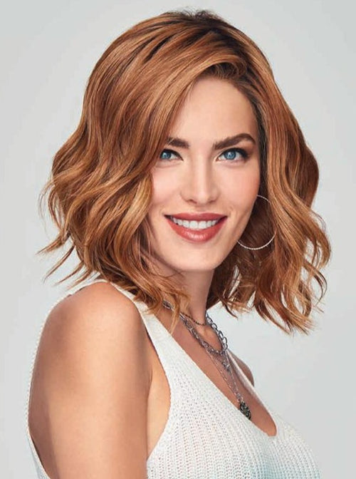 Raquel Welch Simmer Elite synthetic wig RL29-33SS Shaded Iced Pumpkin Spice
