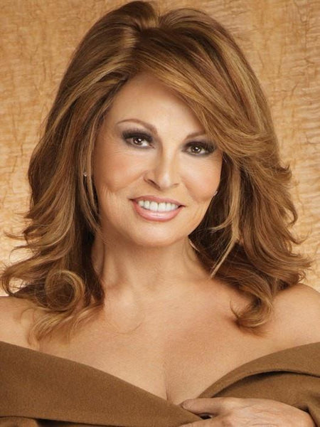 Raquel Welch Bravo human hair wig R3025S Glazed Cinnamon