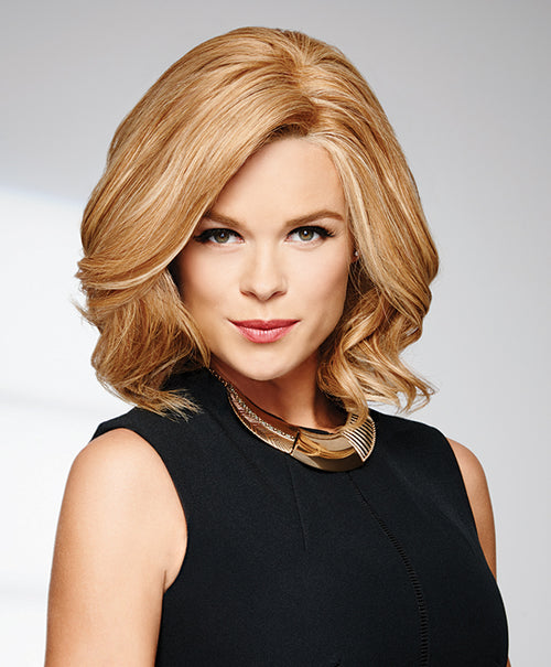 Raquel Welch Headliner human hair wig R25 Ginger Blonde
