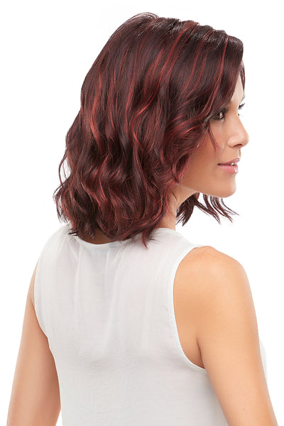 Jon Renau Scarlett lace front synthetic wavy wig Chocolate Cherry FS2V/31V