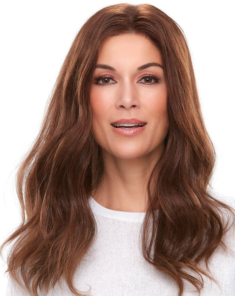 Jon Renau Top Smart 18 inch human hair lace front topper 6RN