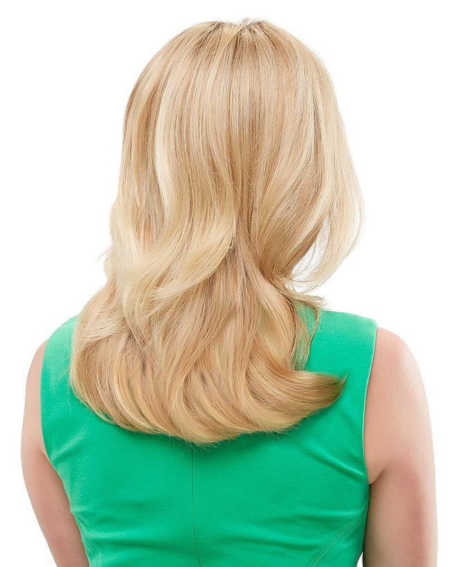 Jon Renau Top Form 12 inch human hair topper 12FS8 Shaded Praline