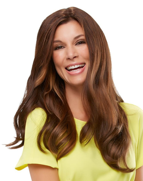 Jon Renau Top Form 18 inch human hair topper 6RN