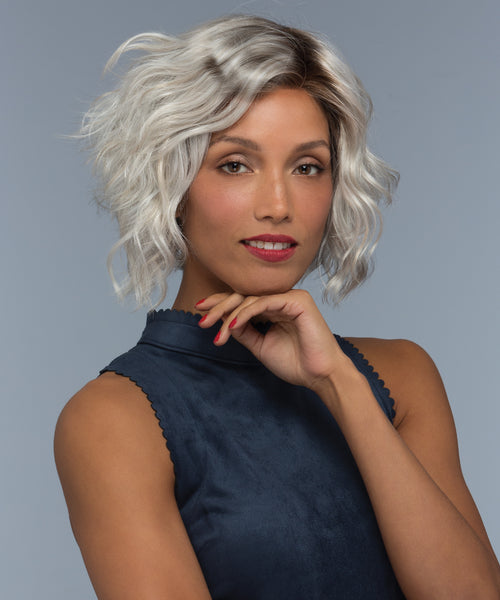 Estetica Designs Wynter synthetic wig Silversun RT8