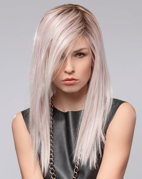 Ellen Wille Cloud synthetic wig Pastel Rose Rooted