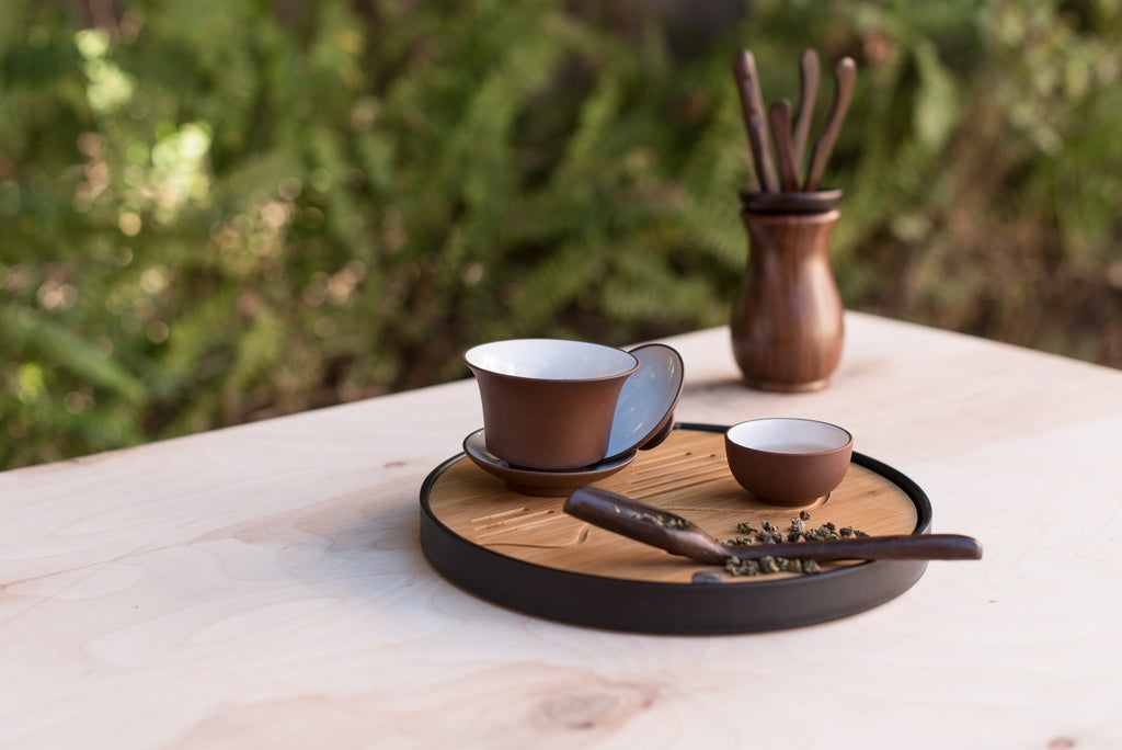 The Circle - Tea Tray - Modern Teaist - bamboo - teaware - cute - best - tea - teapots