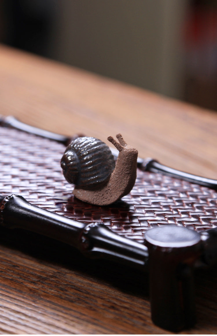 Snail - Tea Pet - Modern Teaist - bamboo - teaware - cute - best - tea - teapots