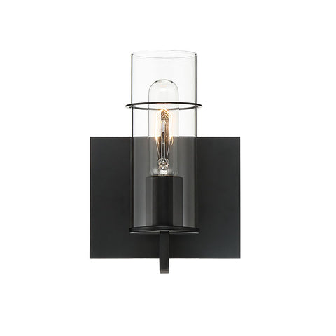 Wall Sconce | Cylinder Glass 1 Light