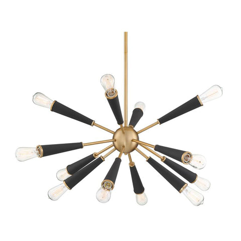Chandelier | Two Toned Sputnik