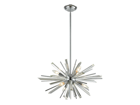 Chandelier | Palisades Ave Chrome