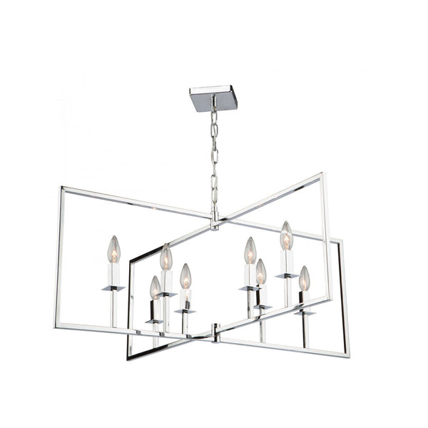 Chandelier | Modern Geometric Square