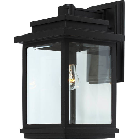 Outdoor Sconce | Modern Clear Glass