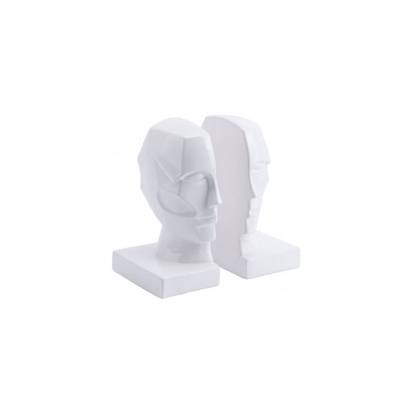 Accessories | White Face Bookends