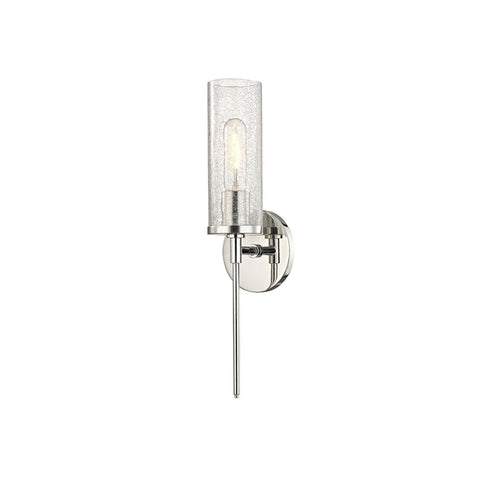 Wall Sconce | Crackled Glass