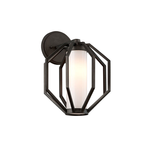 Outdoor Sconce | Modern Hexagon Lantern