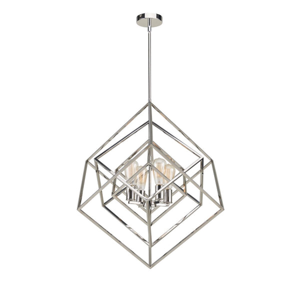 Chandelier | Geometric 4 Light