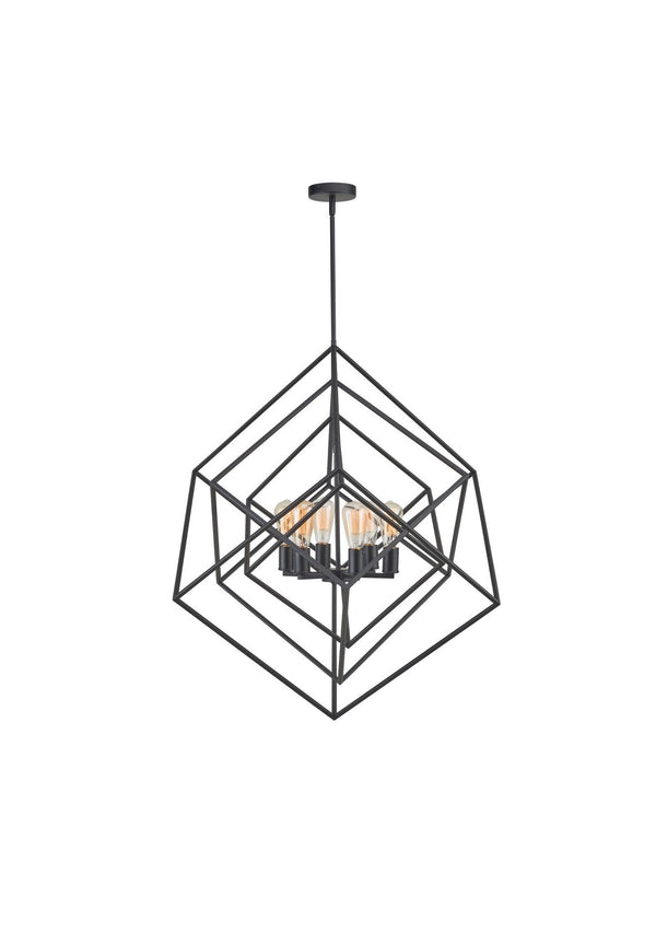 Chandelier | Geometric 6 Light