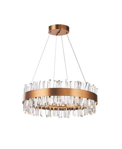 Chandelier | Geo Brass