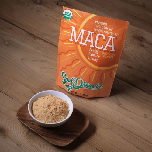 Organic Maca Powder, 16 oz