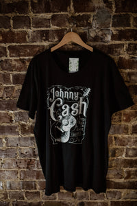 Black Johnny Cash Tee 2322