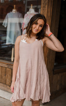 Take It Easy Slip Dress in Blush 2660