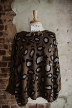 Leopard Oversized Pocket Sweater 2306