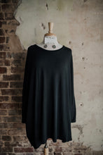 Black Oversized Sweater 2279