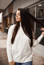 Ivory Turtleneck Sweater 2957