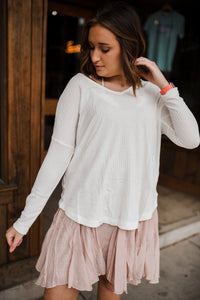 Easy Breezy Top in Ivory 2656