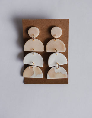 The Anne Clay Earrings