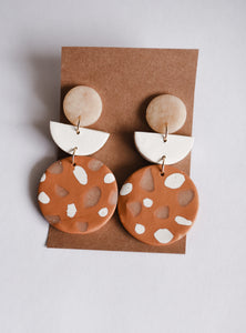Sunny Days Clay Earrings