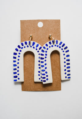 The Santorini Clay Earrings